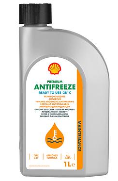Антифриз Shell Premium (готовий, 774 C, G11, зелений)