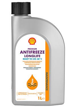 Антифриз Shell Premium LL (готовий, 774 D-F, G12/G12+, червоний)