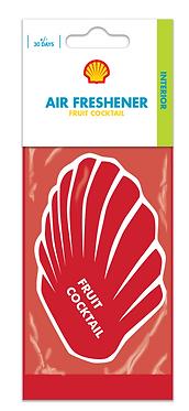 Ароматизатор повітря салону Shell Airfreshener Fruit Cocktail