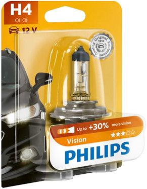 Автолампа Philips PR12342-B H4 12V 60/55W (P43t-38) (блістер)