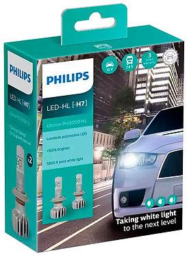 Комплект автоламп Philips LED H7 11972U50CWX2 Ultinon Pro5000 +160% X2