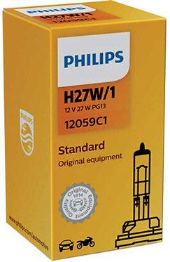 Автолампа вказівна Philips 12059 H27W/1 12V 27W (PG13)
