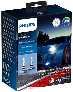 Комплект Philips LED HB3/4 11005 XUW X-treme Ultinon (+200%) 6500K X2