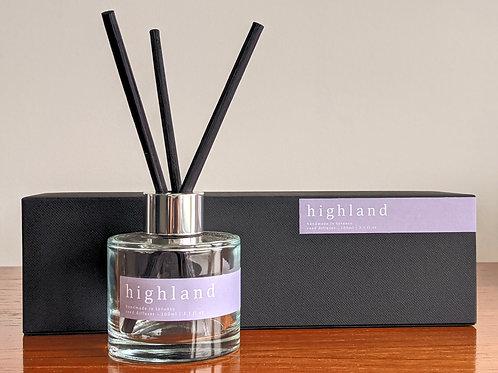 highland diffuser - bergamot, moss and patchouli