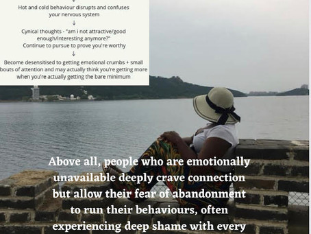 Part 2 Emotional Unavailability (Relationship Dynamic)