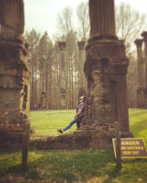 Windsor Ruins, Port Gibson, MS, 2016.