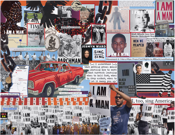 """Movement 6: """"I Am a Man"""": From Civil Rights to #BLM"""