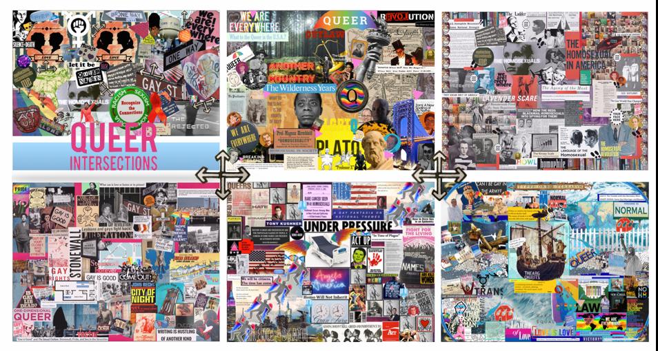 AMST 385 Unit by Unit Collage