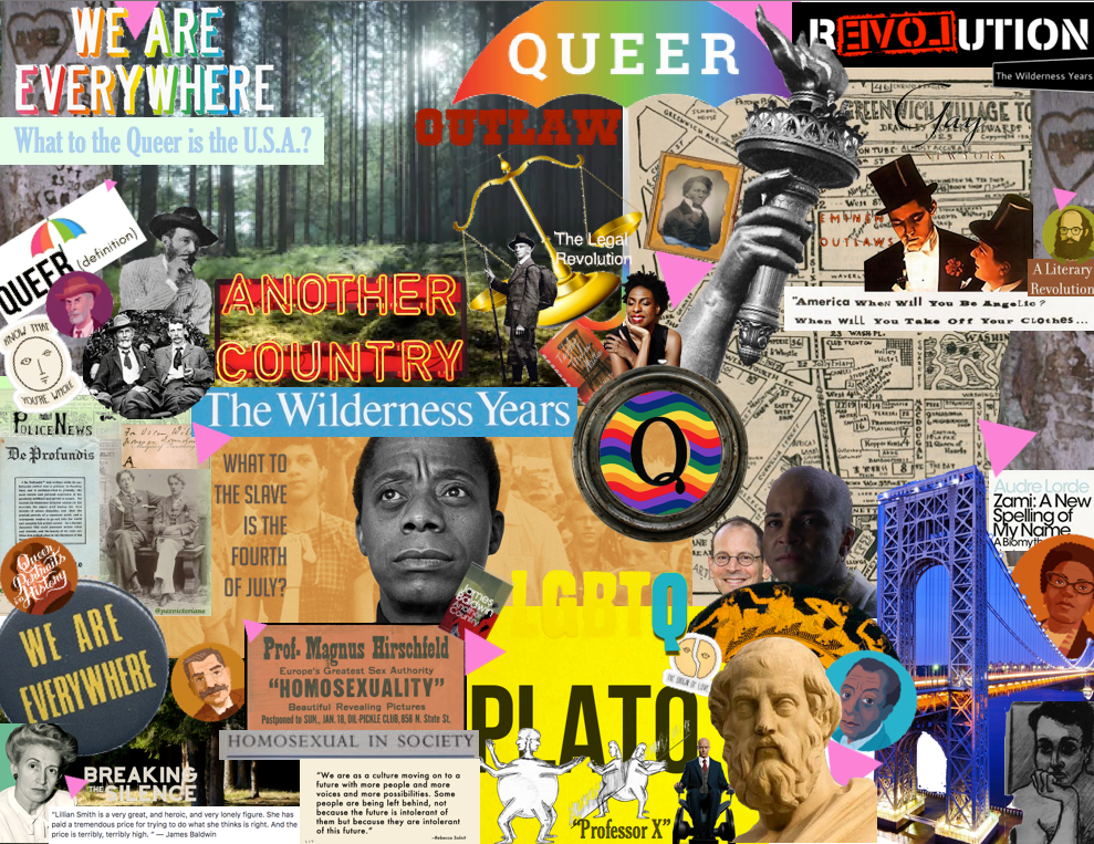 AMST 385 Unit1 The Wilderness Years Collage