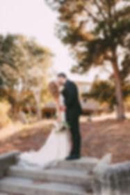 beautiful bride and groom Blair Dugan Floral