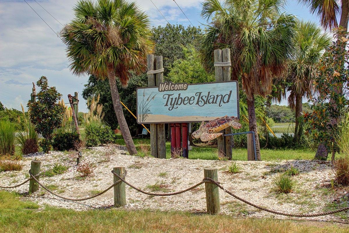 Tybee Sign