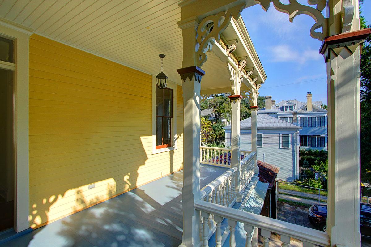 2nd Floor Rear Side Porch