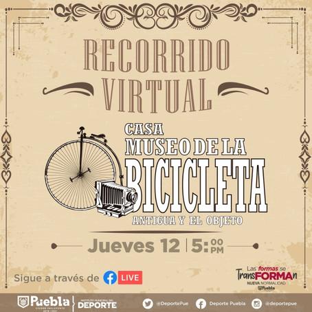 IMDP REALIZARA RECORRIDO VIRTUAL DESDE EL MUSEO DE LA BICICLETA