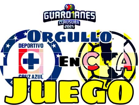 AMÉRICA VS CRUZ AZUL, EL PARTIDO A SEGUIR EN LA JORNADA 15 DEL FUTBOL MEXICANO.