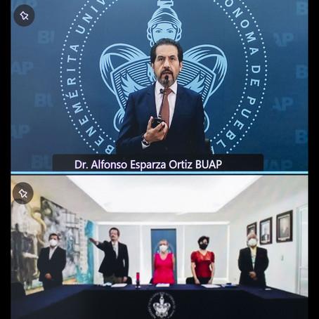 BUAP DESTINARÁ MÁS RECURSOS PARA LA FORMACIÓN DE ESTUDIANTES DE MEDICINA: RECTOR ALFONSO ESPARZA.