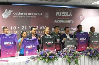 PRESENTA INPODE LA PLAYERA OFICIAL DEL MARATÓN PUEBLA 2019.