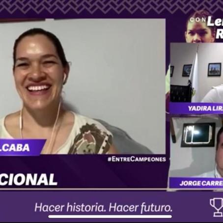 BUSCAR PERSISTIR, HASTA LOGRARLO: LENIA RUVALCABA, JUDOKA PARALÍMPICA.