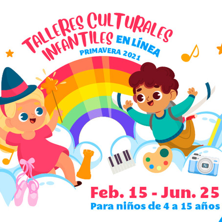 """CARTELERA CULTURAL """"CCU EN CASA""""DEL 01 AL 07 DE FEBRERO DE 2021"""