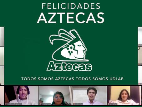 LOS AZTECAS UDLAP CELEBRAN A 11 DE SUS GUERREROS.