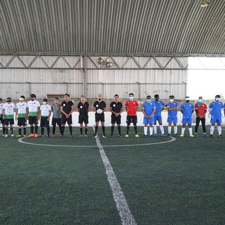 TOPOS FC DEBUTA CON VICTORIA EN LA LIGA MEXICANA FÚTBOL CIEGOS