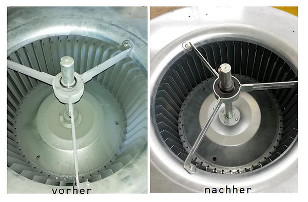 Reinigung Filteranlage mit Trockeneis