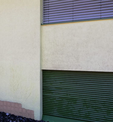 Trockeneisreinigung Fassade nachher