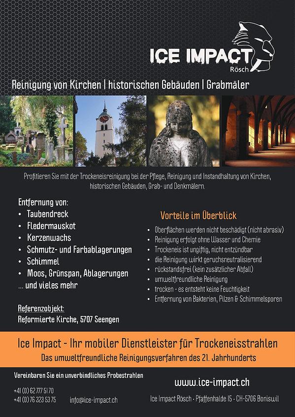 Reinigung Kirchen Denkmalpflege