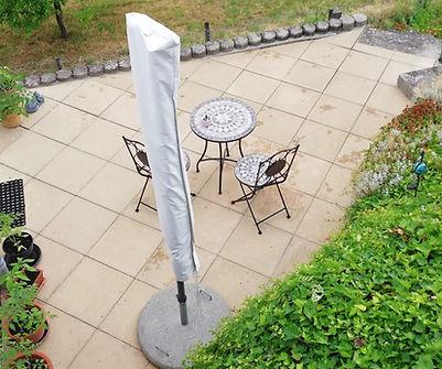 Trockeneisreinigung Terrasse nachher