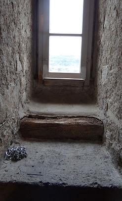 Fenster Kirch nach der Reinigung mit Trockeneis