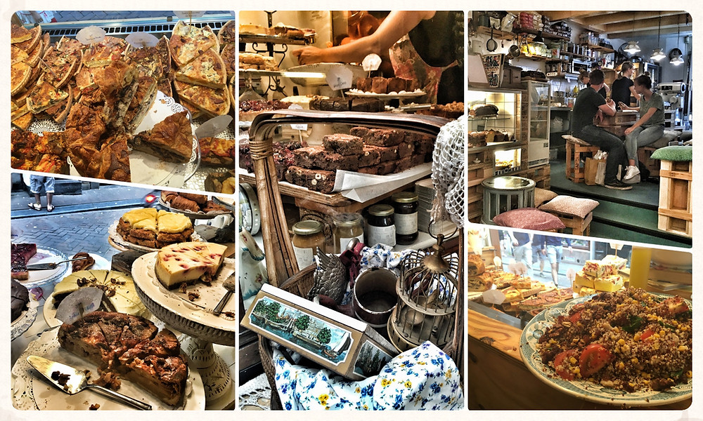 Amsterdam Grachten Travel City Guide Insider-Tipps Städtetrip Blog Niederlande De Laatste Kruimel Cafe Cake Kuchen