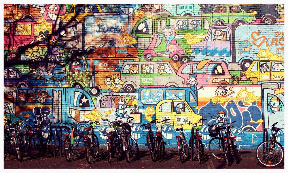 Street Art Köln Gerhard-Wilczek-Platz PEZ