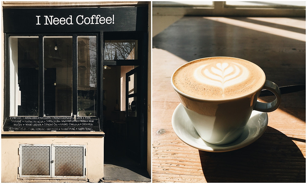 Die besten Cafés in Prag, Prag, Städtetrip, Insider-Tipps, Cafés, Tschechien, I Need Coffee!, Blog Leuk