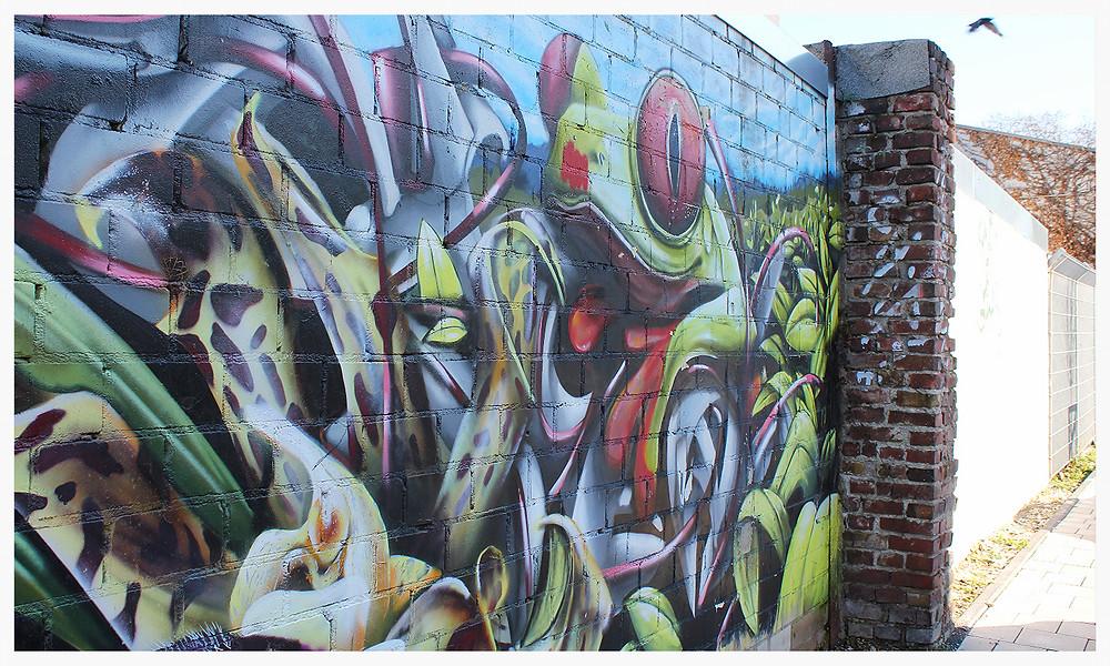 Street Art Köln Ehrenfeld Grüner Weg