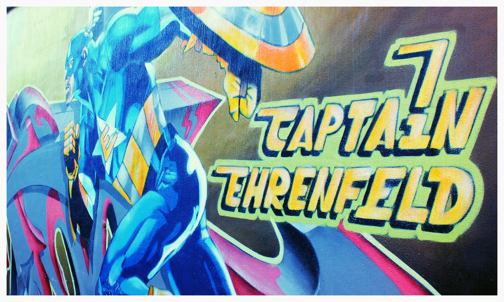 Street Art Köln Captain Ehrenfeld