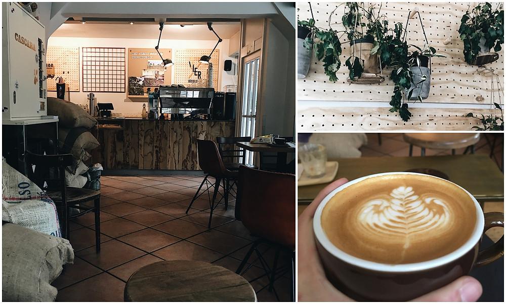 Die besten Cafés in Düsseldorf, Blog Leuk, Rösterei VIER