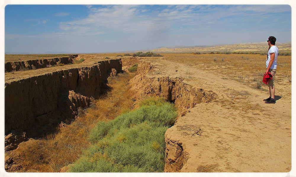 Kalifornien Roadtrip US-Westküste Reiseblog LA USA Christin Otto San-Andreas-Verwerfung