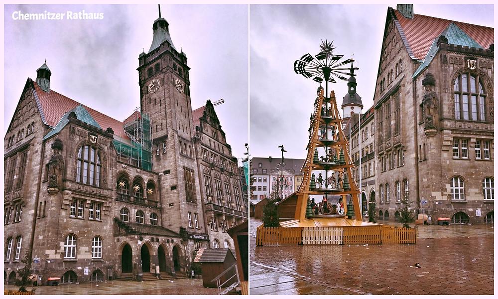 Chemnitz, Rathaus, Blog, Reiseblog, Stadt der Moderne, Innenstadt