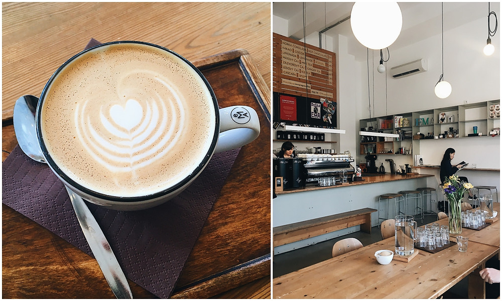 Die besten Cafés in Prag, Prag, Städtetrip, Insider-Tipps, Cafés, Tschechien, EMA Espresso , Blog Leuk