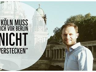 """""""In Köln ist wirklich immer was los"""""""