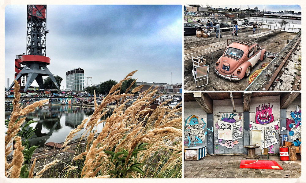 Amsterdam Grachten Travel City Guide Insider-Tipps Städtetrip Blog Niederlande  NDSM IJ-Hallen Werft Flea Market Flohmarkt