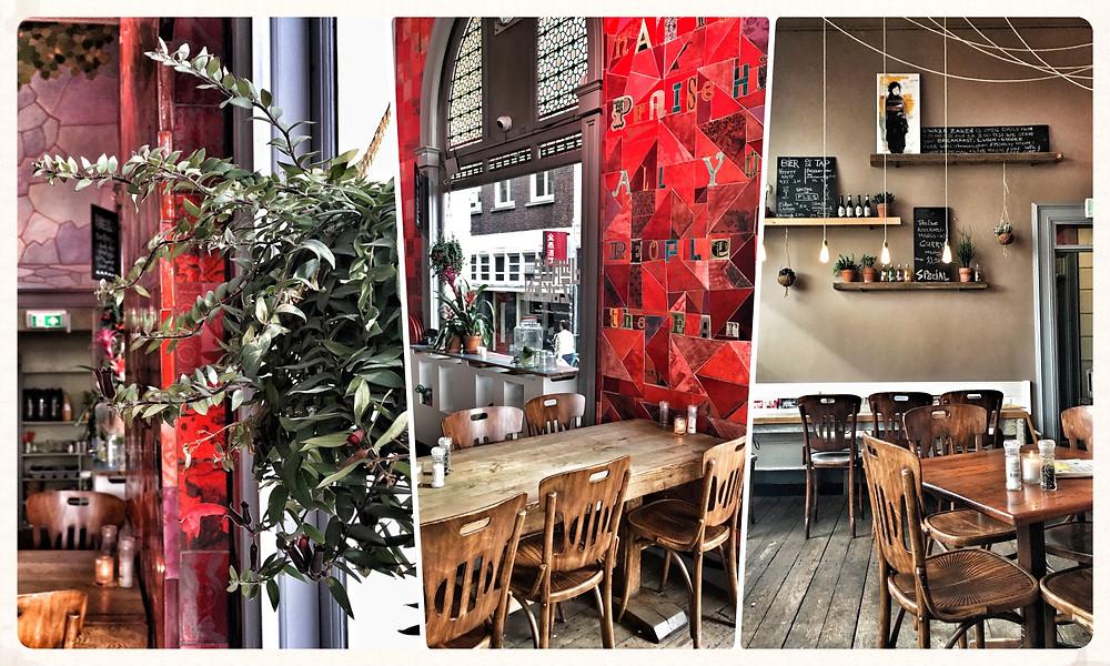 Amsterdam Grachten Travel City Guide Insider-Tipps Städtetrip Blog Niederlande Eat Restaurant Dwaze Zaken
