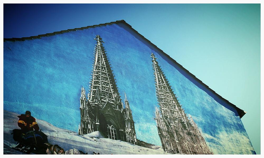 Street Art Köln KVB Dom
