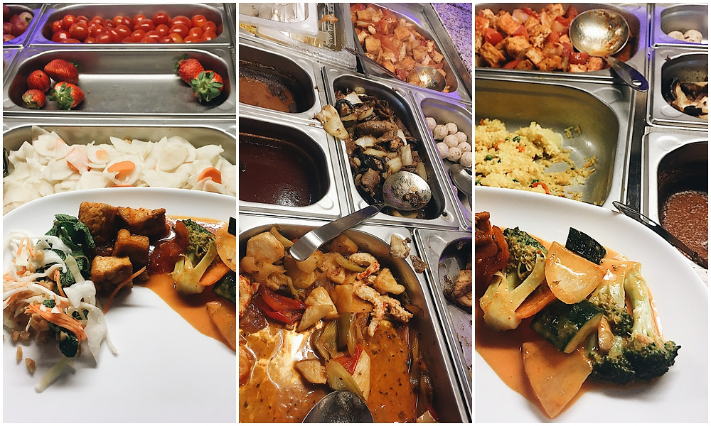 Orange Verte, Veganes Asia-Buffet, All You Can Eat, Vegane Restaurants Köln, Blog Leuk