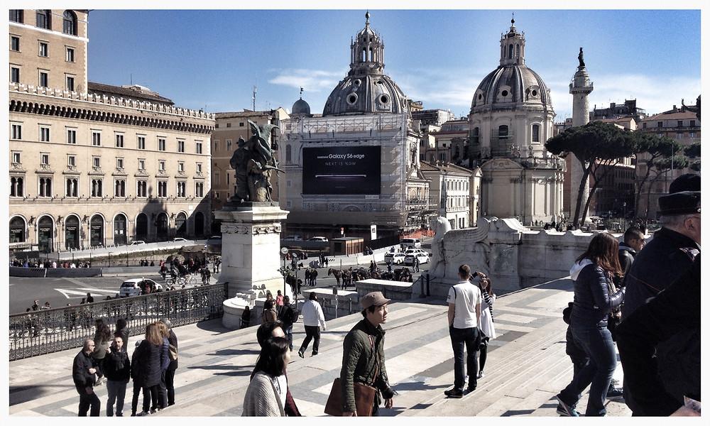 Piazza Venezia Rom