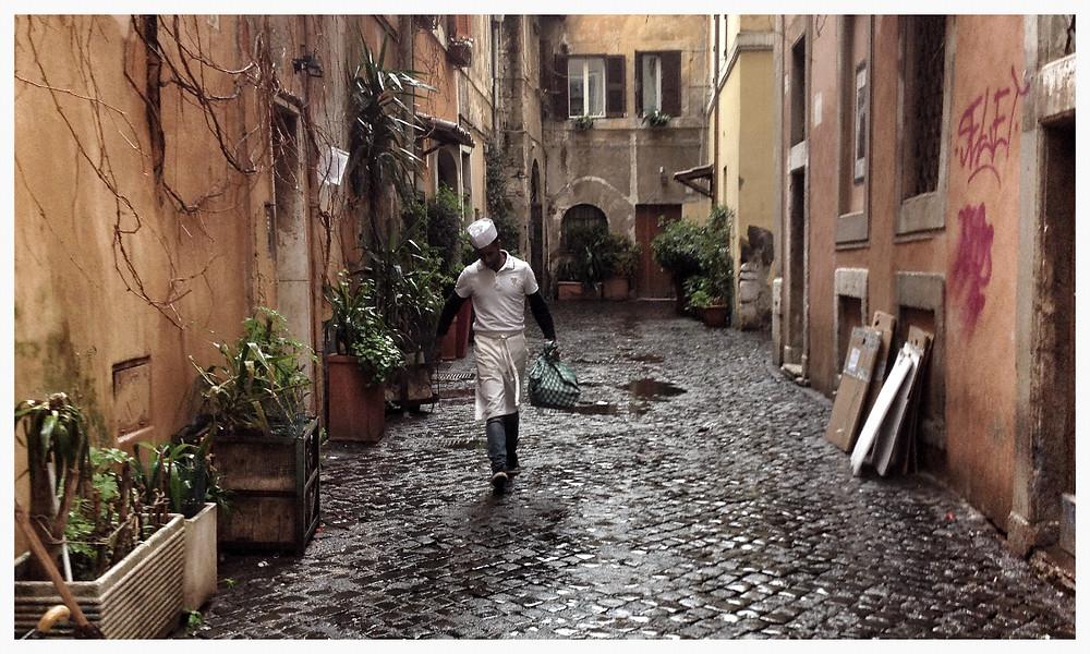 Gassen in Rom