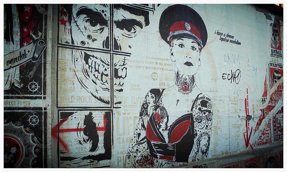 Street Art Köln Ehrenfeld Heliosstraße mittenimwald