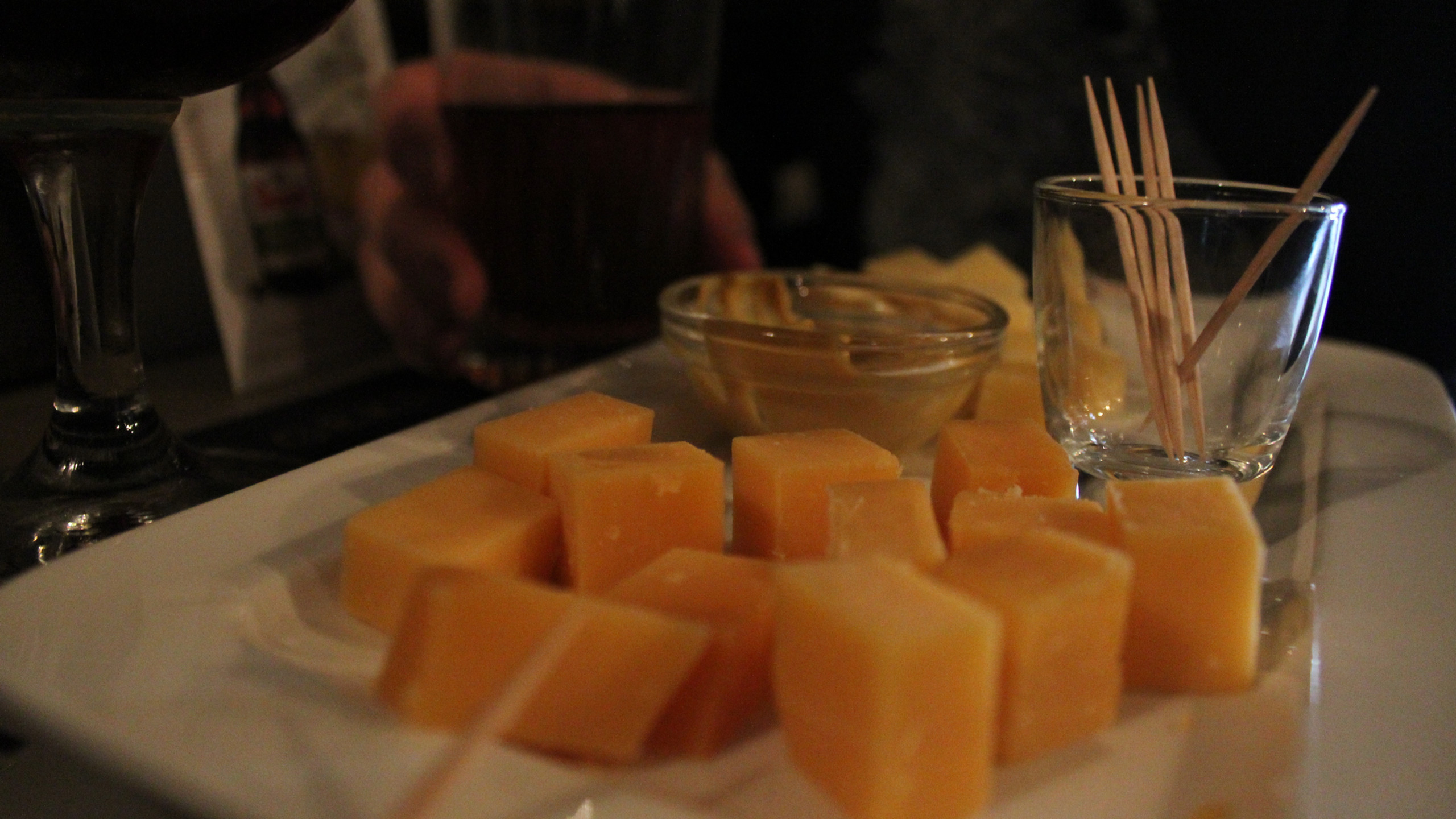 Käsesnack im Antwaerps Bierhuyske