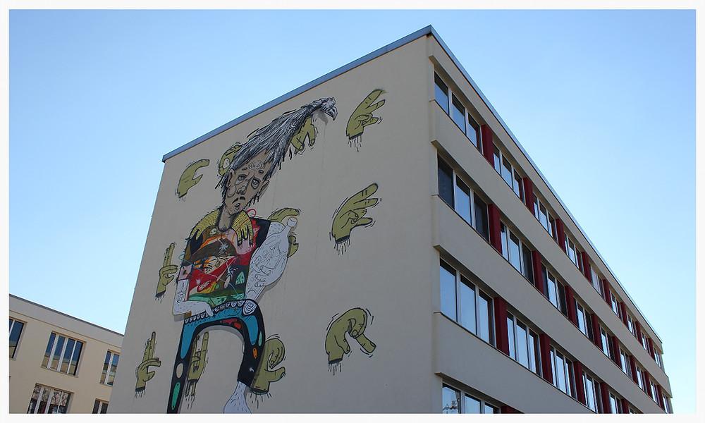 Street Art Köln Ehrenfeld Vogelsanger Straße Morbit CTP Youth City Leaks