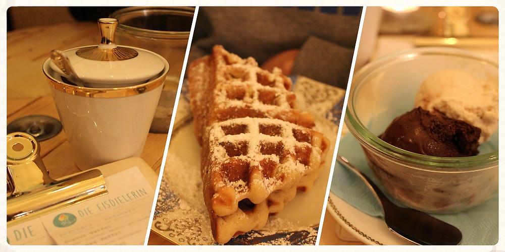 Köln Cafés Eisdielerin Ehrenfeld Kuchen Waffeln Eis