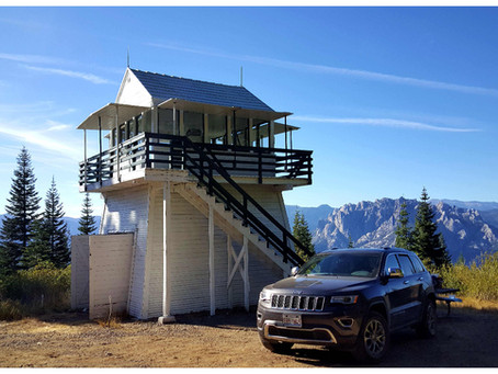 USA: Girard Ridge Lookout – dem Himmel so nah